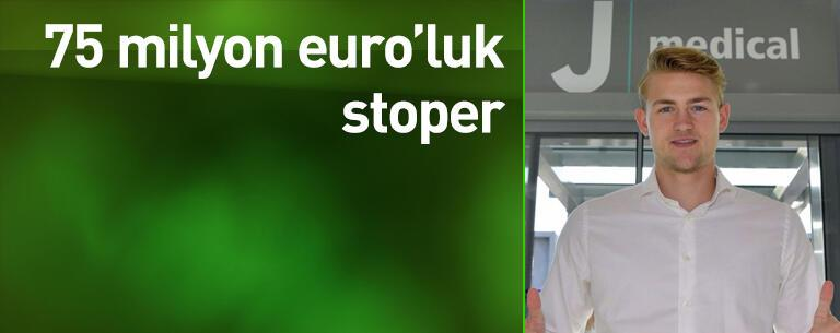75 milyon euro'luk stoper