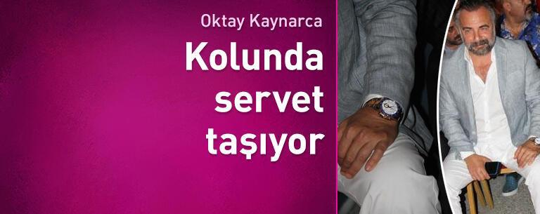Oktay Kaynarca'nın 110 bin TL'lik saati