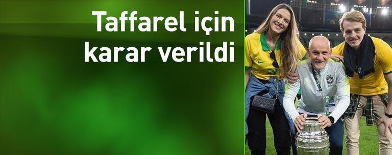 Taffarel'e izin çıkmadı