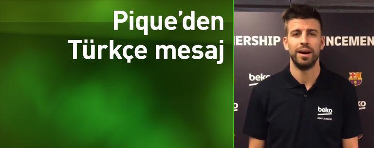 Pique'den Trabzonspor'a teşekkür