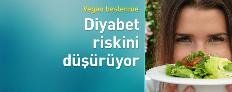 Vegan beslenme diyabet riskini düşürüyor