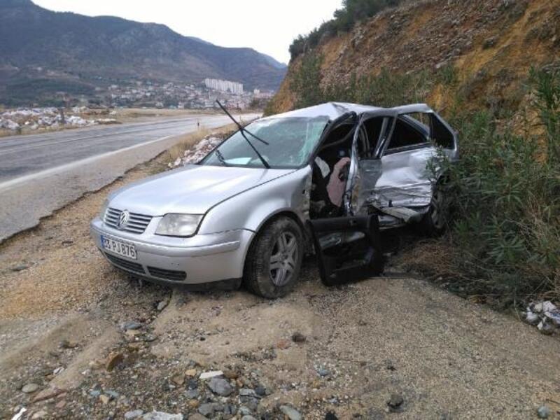 Kozan'da trafik kazası: 4 yaralı