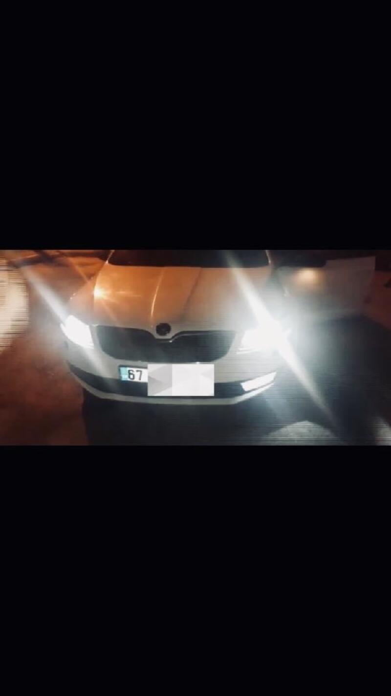 Zonguldak'ta çakar lamba bulunduran alkollü sürücüye 4 bin 511 lira ceza