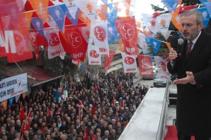 AK Partili Ünal: Bir gün de FETÖ'ye, PKK'ya saldırıya geçin