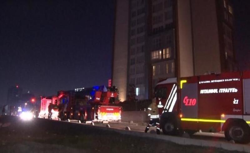 Rezidans dairesinde yangın: 150 kişi tedbir amaçlı tahliye edildi