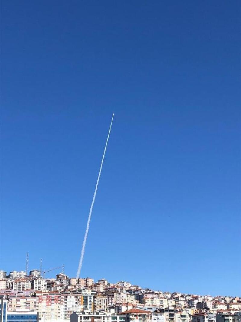 Sinop'ta füze test ve eğitim atışları yapıldı