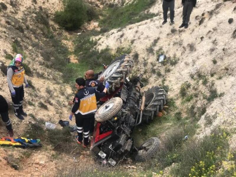 Kullandığı traktörün altında kaldı, 24 saat sonra kurtarıldı