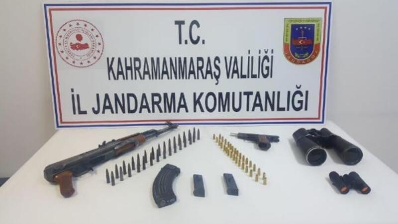 Katil zanlısı piyade tüfeği ve tabanca ile yakalandı