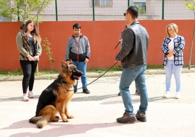 Keşan'daki 'köpek eğitim' kursuna büyük ilgi