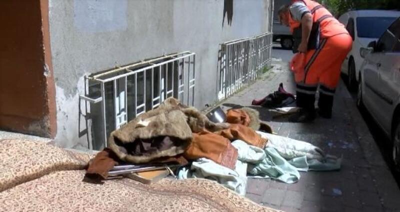 Sinir krizi geçirdiği iddia edilen kadın sokağı savaş alanına çevirdi