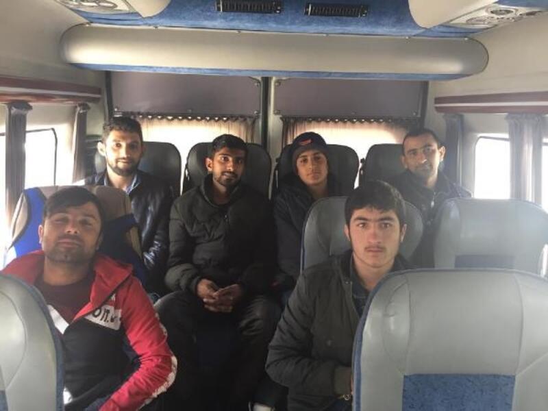 Keşan'da 6 kaçak göçmen yakalandı