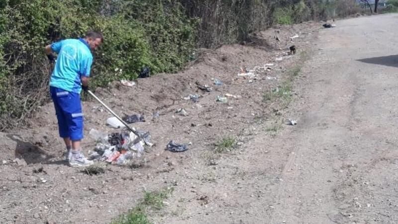 Orhangazi ve İznik'te sahil temizliği