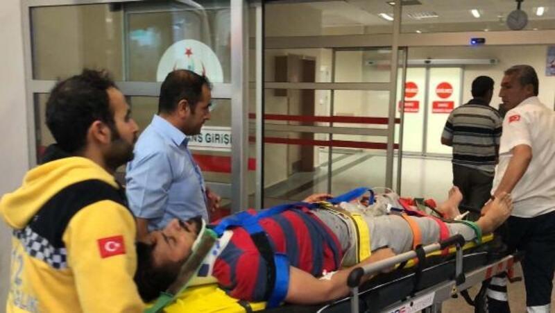 Adıyaman'da iki motosiklet çarpıştı: 3 yaralı