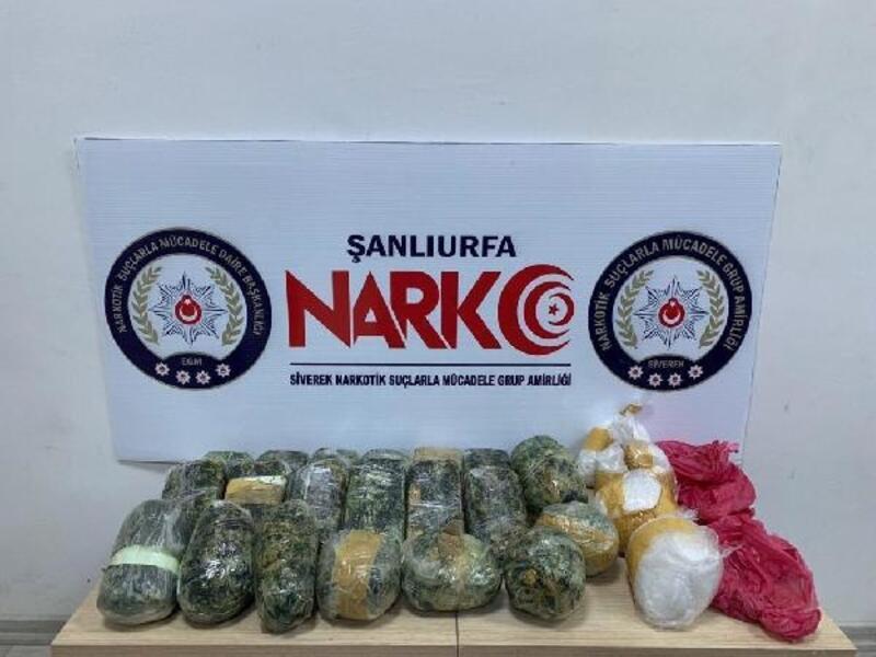 Otomobilde uyuşturucuya 2 gözaltı