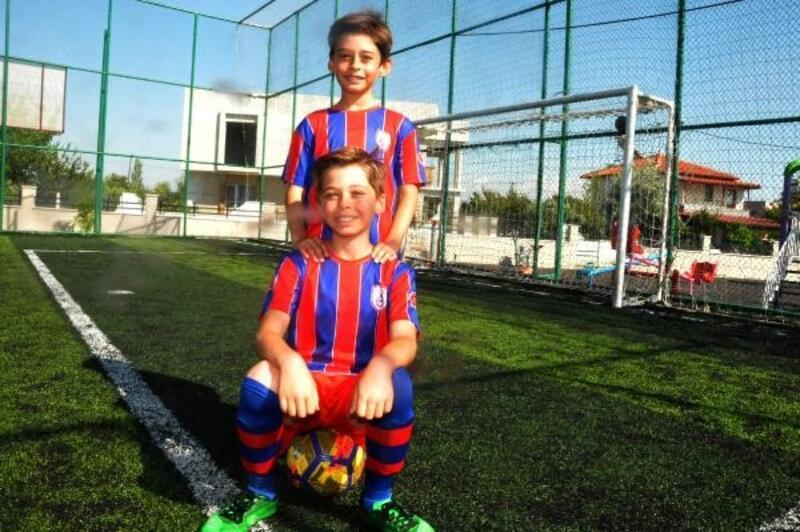 Aydın'da Altınordulu ikizlerin hedefi Trabzonspor'un yeni Şota ve Arçil'i olmak