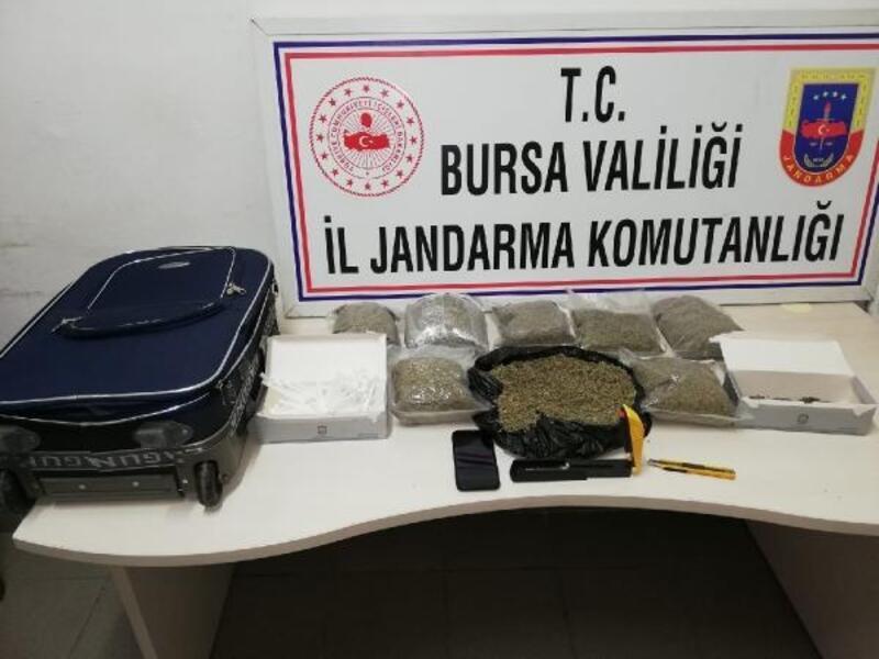 Jandarma ekiplerinden uyuşturucuya 'Roket'li darbe