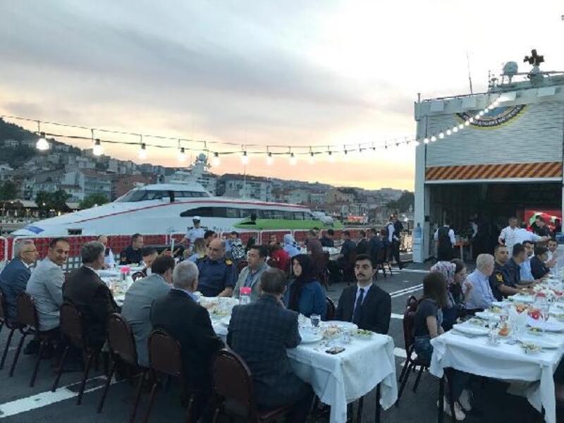 Mudanya'da şehit aileleri ve gaziler unutulmadı
