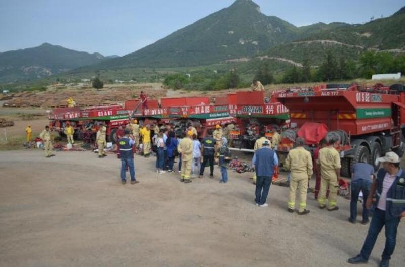 Orman İşletme Müdürlüğünden yangın tatbikatı