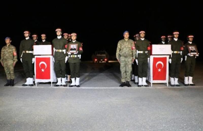 'Pençe'operasyonu şehitleri memleketlerine uğurlandı