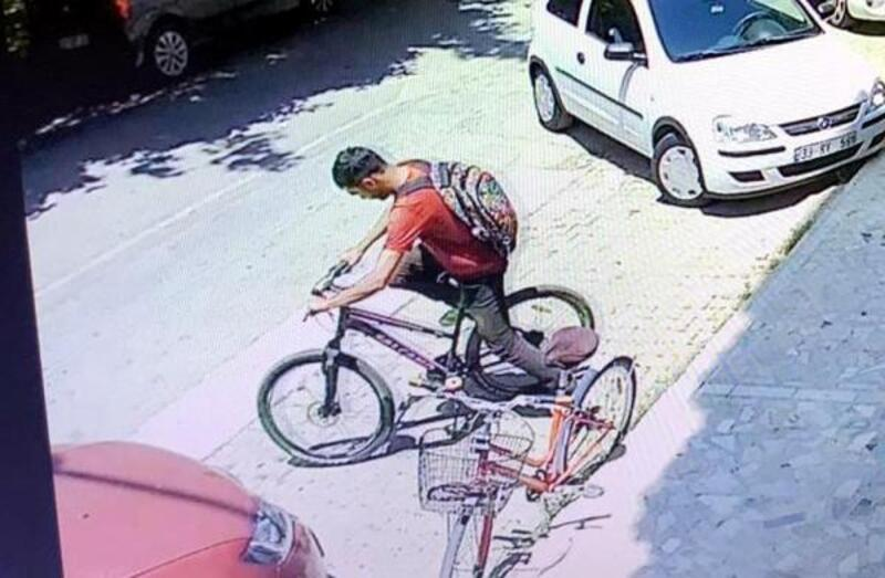 Bisiklet hırsızı suçüstü yakalandı
