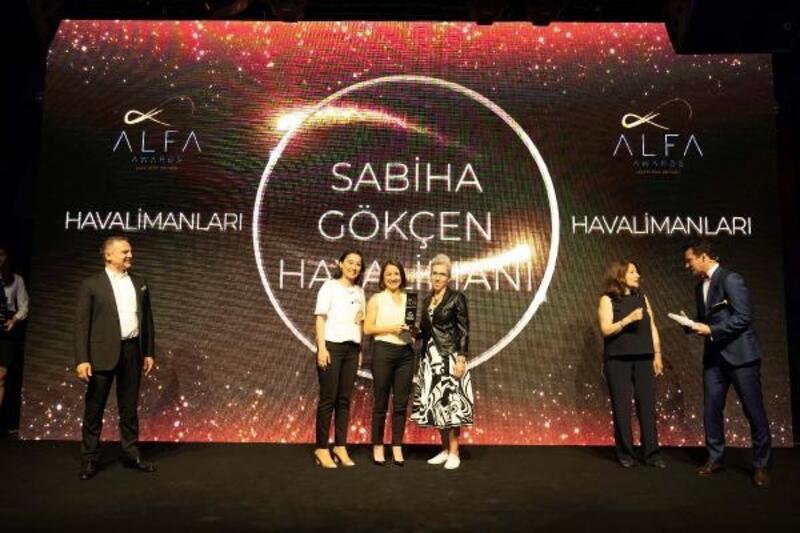 Sabiha Gökçen Havalimanı 'Müşteri Markası' seçildi