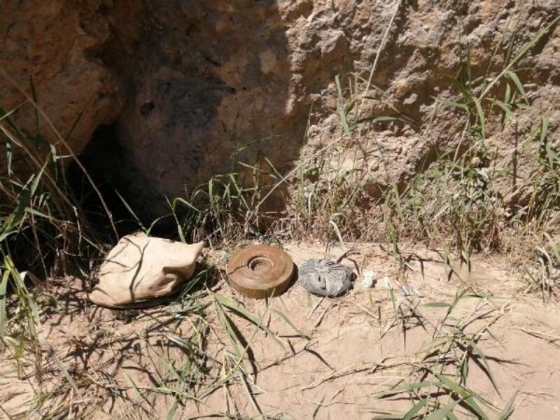 Siirt'te PKK mayını imha edildi