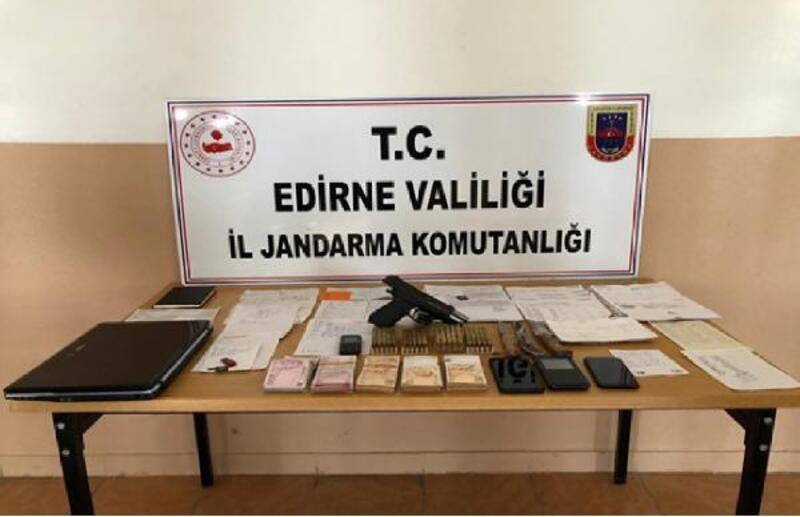 Edirne'deki 'tefecilik' operasyonunda 8 tutuklama