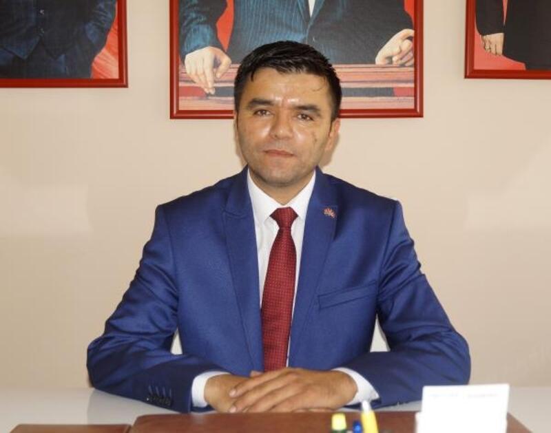 MHP Finike'ye Recep Şahin getirildi