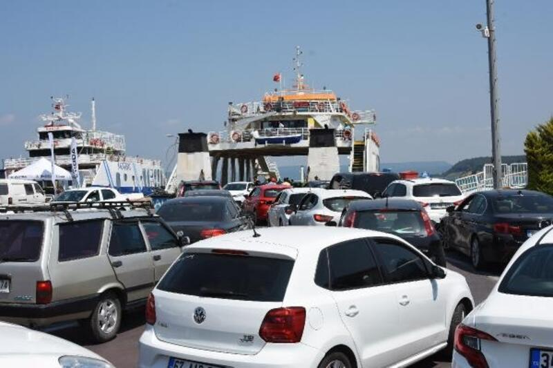 Çanakkale'de bayram yoğunluğu başladı