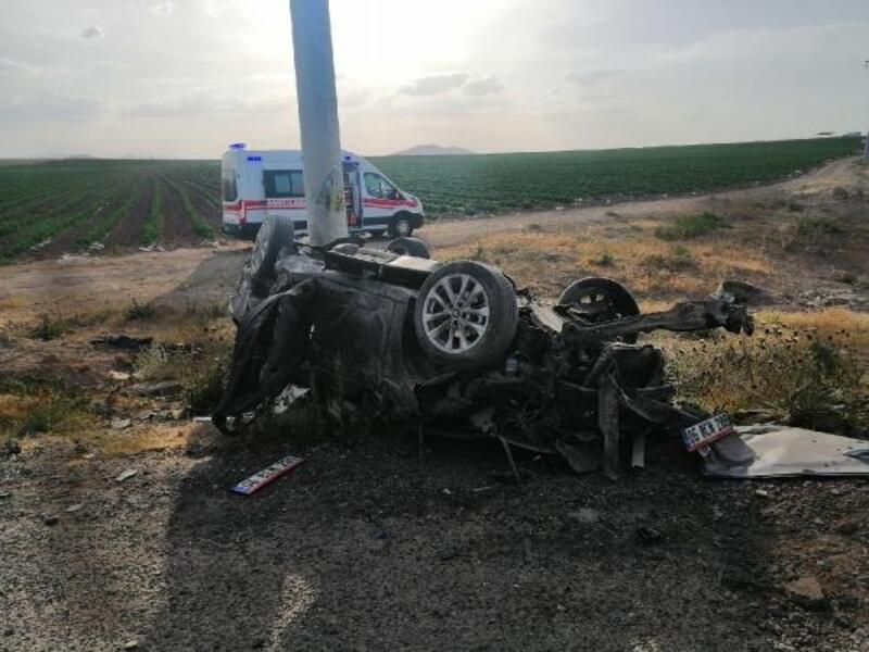 Otomobil, takla attı: 1 ölü, 4 yaralı