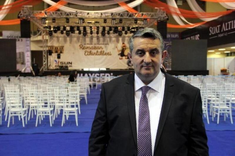 Kayseri'de Ramazan sokağını 1 milyon 200 bin kişi ziyaret etti