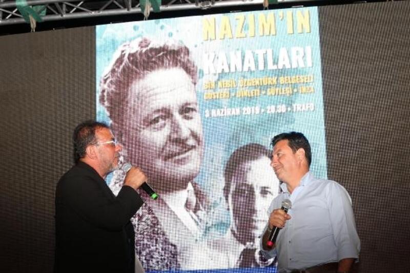 Bodrum'da 'Nazım'ın Kanatları' belgeseli gösterildi
