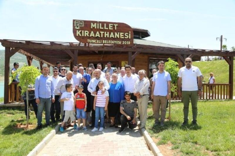 Tunceli AK Parti'de bayramlaşma