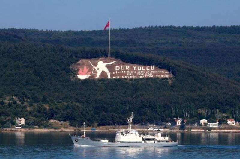 Rus istihbarat gemisi 'Kildin', Akdeniz'e iniyor