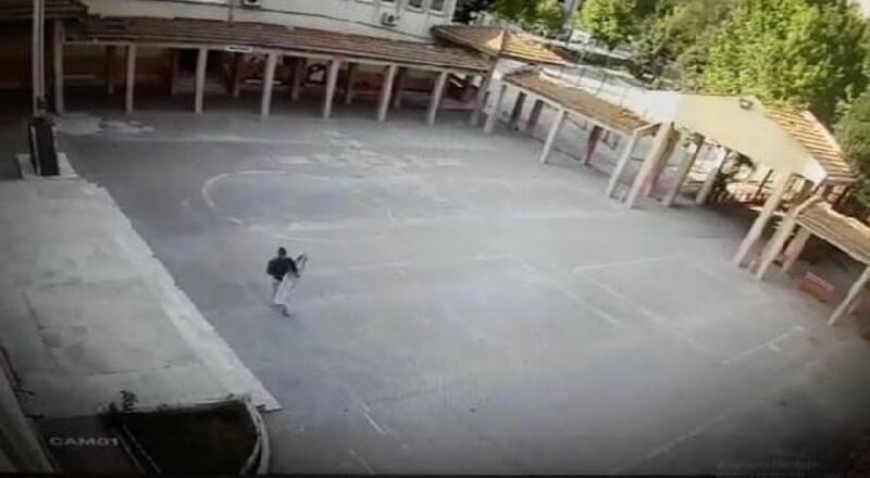 Okuldan hırsızlık yapan şüpheli tutuklandı