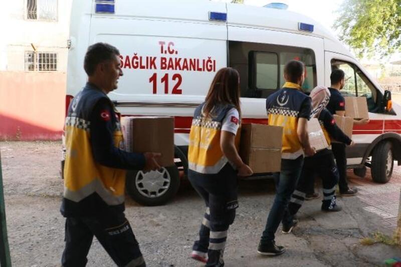 Sağlıkçılardan 200 aileye gıda yardımı