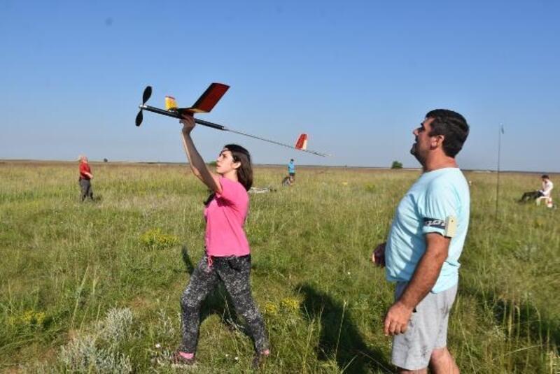 Kırklareli'de uluslararası serbest model uçakyarışmaları