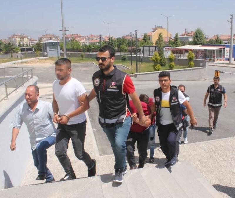 Karaman'da uyuşturucu operasyonu: 4 gözaltı