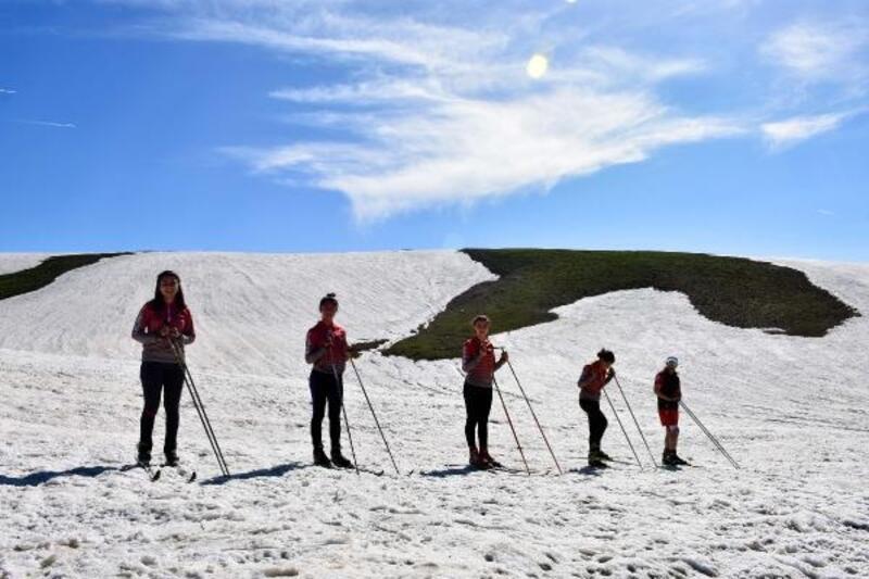 Haziran ayında kayak keyfi