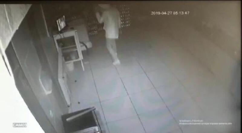 Okul kantininden televizyon hırsızlığı şüphelisi yakalandı