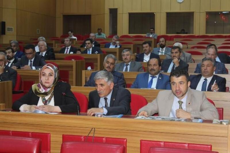 Yerel mecliste Haziran ayı toplantıları başladı