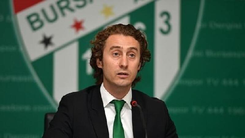 Bursaspor Kulübü'nde Sezer Sezgin, listeden adaylığını geri çekti