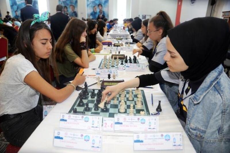 Türkiye satranç finalleri Karaman'da başladı