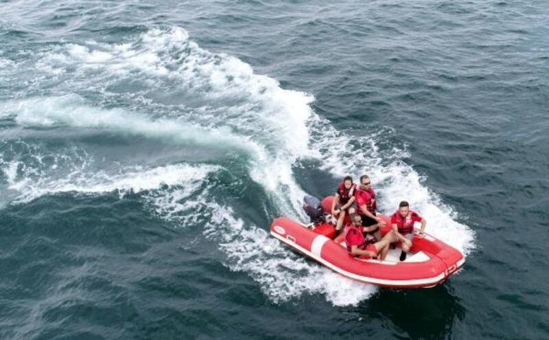 Tekneleri sürüklenince kaybolan Serdar Sincan'ı arama çalışmaları sürüyor