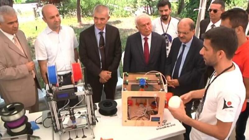 Hatay'da Teknouzay Bilim Şenliği-2 Projesi'nin açılış töreni gerçekleştirildi