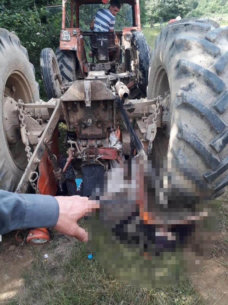 Tokat'ta traktör devrildi: 1 ölü, 3 yaralı