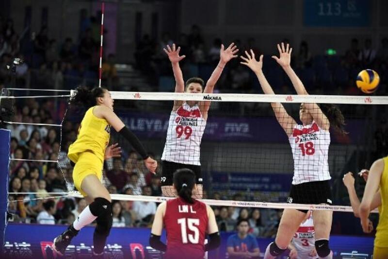 Çin - Türkiye: 3-0