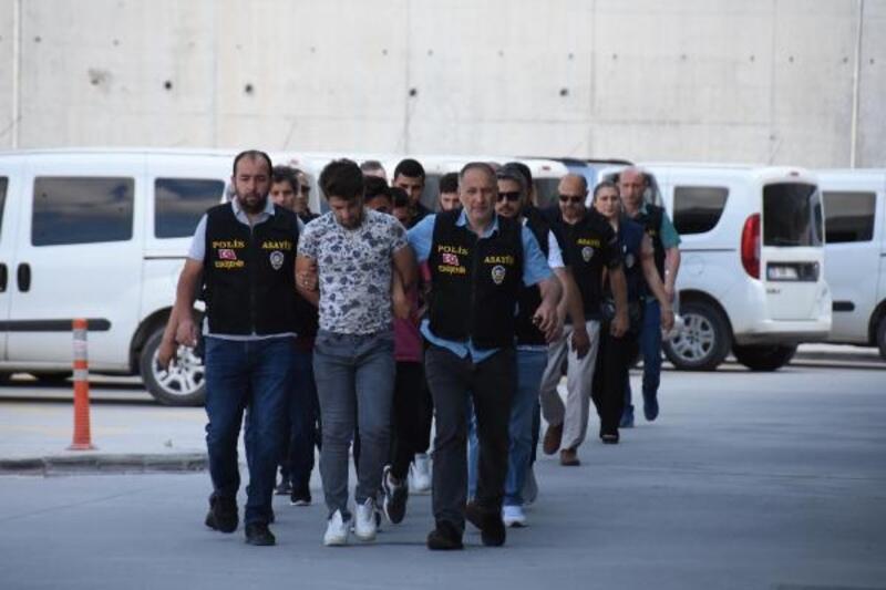 Eskişehir'de otomobilde infaza 6 gözaltı