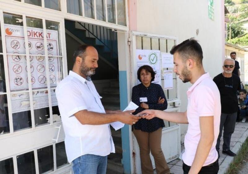 Afyonkarahisar'da YKS sınavı yapıldı