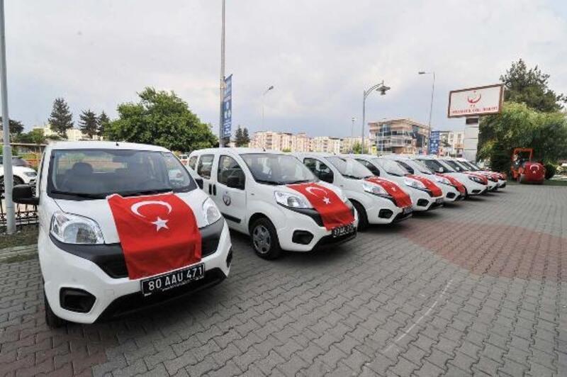 Osmaniye İl Özel İdaresi'ne 11 yeni araç